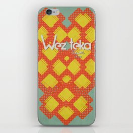 Mitchati Hearts  - Wezteka Union iPhone Skin