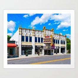 The Old Roxy In Atlanta Art Print