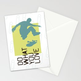 Do What You Love : Skate Stationery Cards