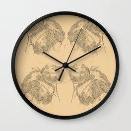 Chignon Wall Clock