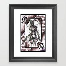 HARLEY Z Framed Art Print