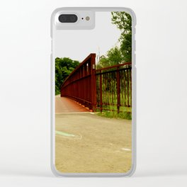 North Don Trail Bridgeway Clear iPhone Case