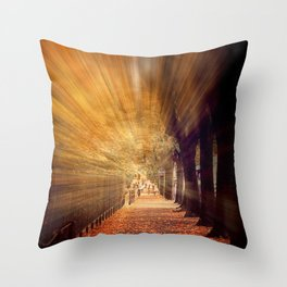 Colors blast  Throw Pillow
