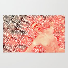 SquaRed: Yell Rug