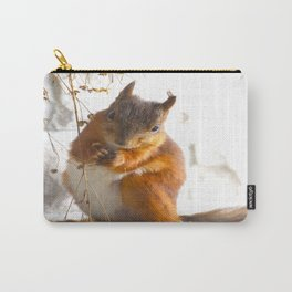Mommy Squirrel  Carry-All Pouch