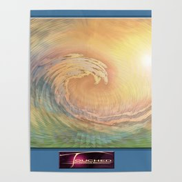Cosmic Wave Poster