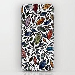 Floral Illustration - Leaf - No*52 iPhone Skin