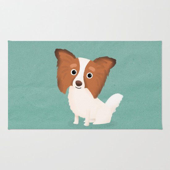 Papillon - Cute Dog Series Rug