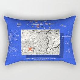 Flying to Beyond Rectangular Pillow