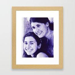 Sufi and Amanda by Ralvin Dizon Framed Art Print