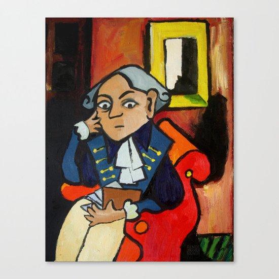 Immanuel Kant Canvas Print