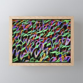 The Electromagetic Signature Of An Eon Forest Framed Mini Art Print