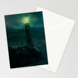 Haunted Fishing Village Stationery Cards