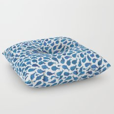 Blue Whales Floor Pillow