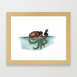 Invastion of the Octopods Framed Art Print