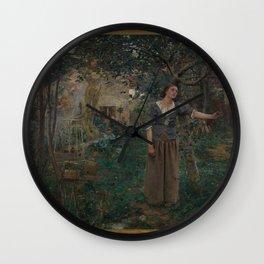 Jules Bastien-Lepage - Joan of Arc Wall Clock
