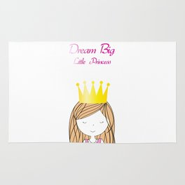 Dream Big Little Princess Rug