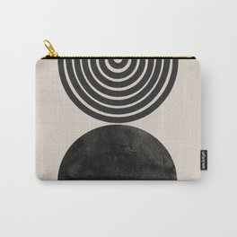 Woodblock Print, Modern Art Carry-All Pouch