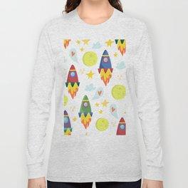 Rocket Ships Long Sleeve T-shirt