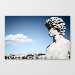 Look Over The City Canvas Print