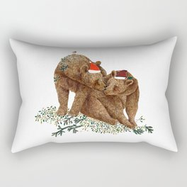 christmas bears Rectangular Pillow