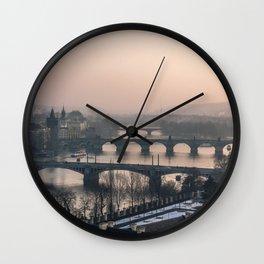 Prague, Czechia XI Wall Clock
