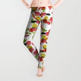 Fruity Flora Leggings
