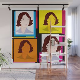 Emily Brontë (Bronte) - English author of Wuthering Heights Wall Mural