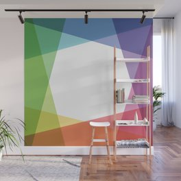 Fig. 001 Rainbow color Wall Mural