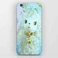 poodle iPhone & iPod Skins featuring Poodle by Vintage  Cuteness