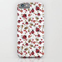 Bugs and Bees iPhone Case