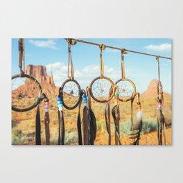 Jew's harp. Monument Valley Canvas Print