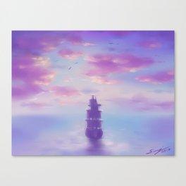 Weit Übers Meer Canvas Print