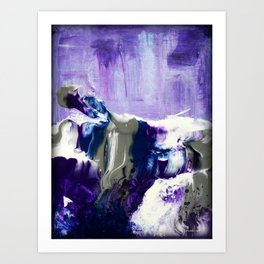 Amethyst Mist Art Print