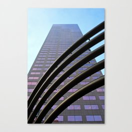 Metal Rainbow Canvas Print