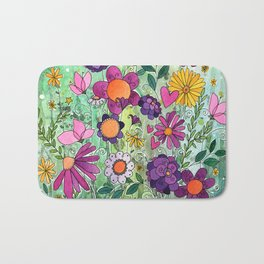 Purple Plum Parfait Bath Mat