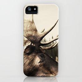 Tom Feiler Moose iPhone Case