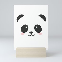 Panda Face Mini Art Print