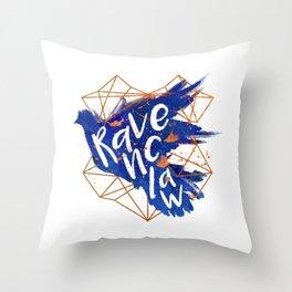 Ravenclaw Bronze Splatter Throw Pillow