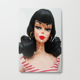 Roxie Doll Metal Print