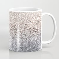 silver Mugs featuring SILVER by Monika Strigel