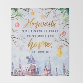 Hogwarts will always Throw Blanket