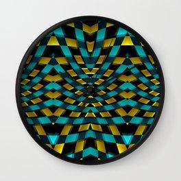 Geometric Kaleidoscope G425 Wall Clock