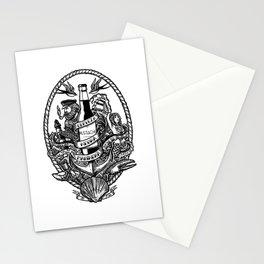 Cerveza Mustache Stationery Cards