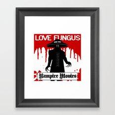 Vampire Movies Framed Art Print