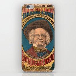 Vaudeville Poster iPhone Skin
