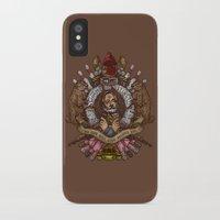 murray iPhone & iPod Cases featuring Murray crest by Rodrigo Ferreira
