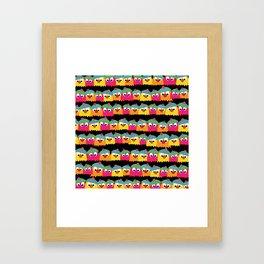 Gonks Framed Art Print