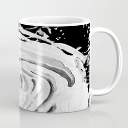 Roses For A Romantic Heart, Black and White Coffee Mug