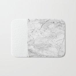 Milk On Marble Bath Mat